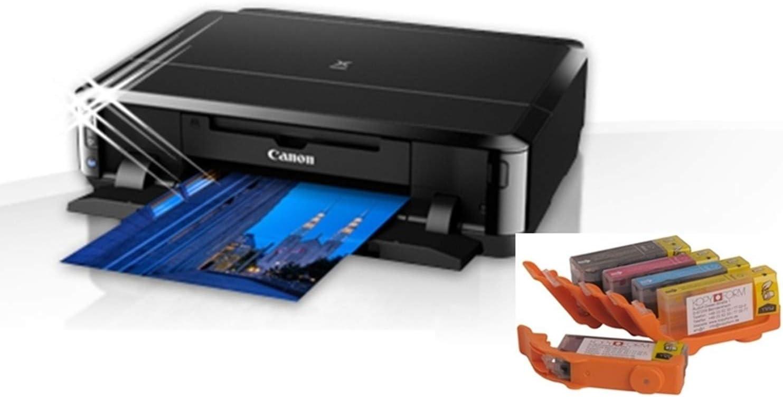 Impresora de alimentos con cartuchos de tinta comestible y papel ...