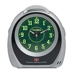 Lorell Atomic Set Alarm Desk Clock - Atomic