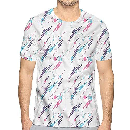 t Shirt Printer Retro,Eighties Style Futuristic Junior t Shirt XXL]()