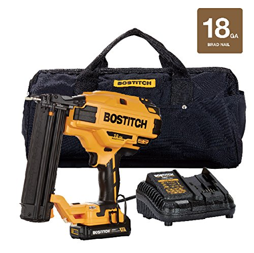 [해외]BOSTITCH BCN680D1 20V Max 18 게이지 Brad Nailer Kit/BOSTITCH BCN680D1 20V Max 18 Gauge Brad Nailer Kit