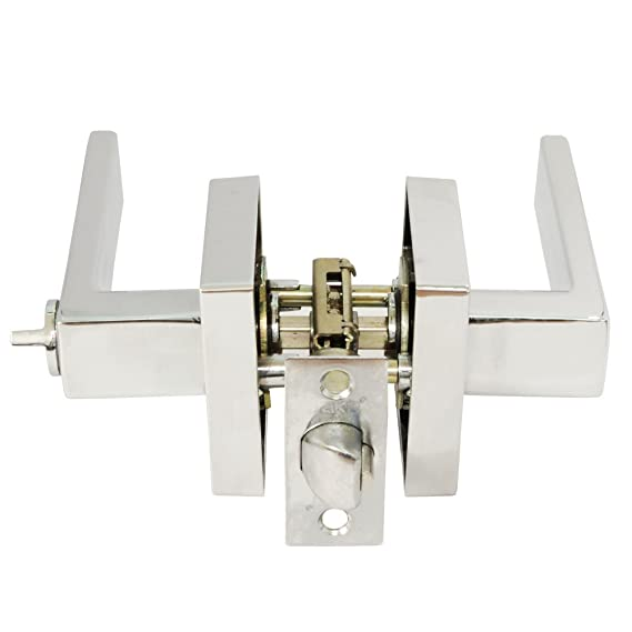 Jako Lisabon Polished Chrome Privacy Door Lever - Door Hardware - Amazon.com