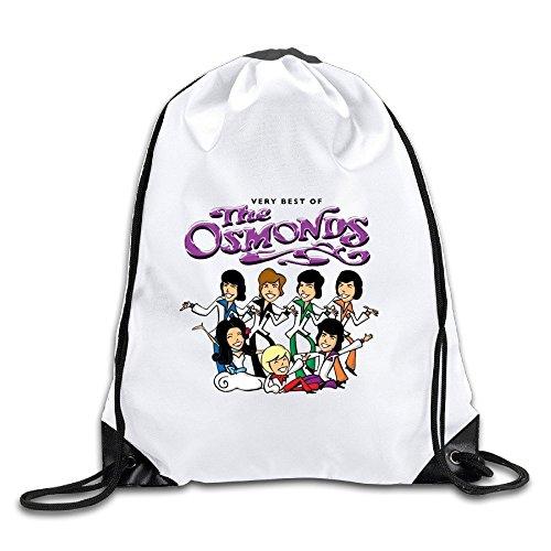 Coreco Very Best Of The Cartoon Osmonds Drawstring Backpack Sack Bag (The Very Best Of The Osmonds)