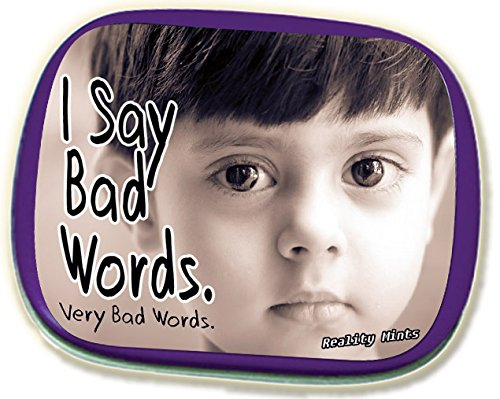 I Say Bad Words Mints – Funny Gag Gift for Teens Weird Gifts White Elephant Ideas Potty Mouth Gifts Wintergreen Breath Mints Stocking Stuffers for Adults Funny Friend Gift Swear Words Secret Santa (People Freaking Out)