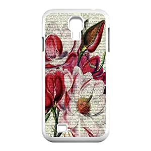 Vintage Flower Watercolor Classic Personalized Phone Case for SamSung Galaxy S4 I9500,custom cover case ygtg585986