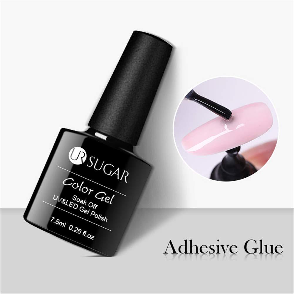 UR SUGAR 7,5ml Pegamento de Uñas Pegamento para Pedrería en Uñas Nail Glue Pegamento de Gel UV para Uñas Gel Adhesivo para Decoración, Falsas Artificial ...