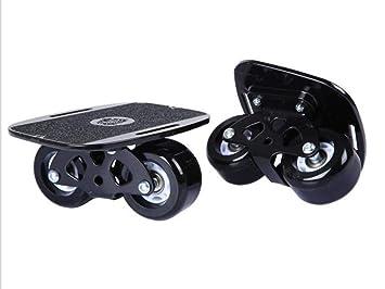 Drift Board Skateboard, Adultos niños de Cuatro Ruedas Dividido Profesional patineta de Viaje silencioso Tablero de vitalidad: Amazon.es: Deportes y aire ...