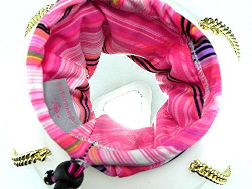 Negro Rosa Millennium Size Material Sintético One Mujer Star Tela De Para Bolso vPrc8qAPg