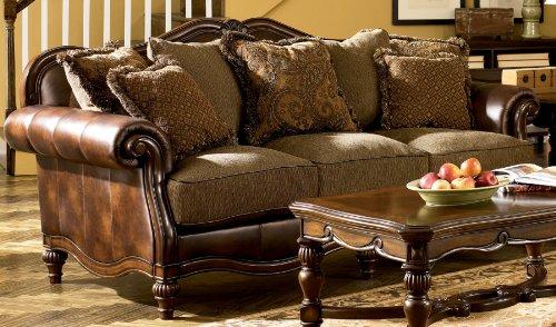 signature-design-by-ashley-claremore-antique-sofa