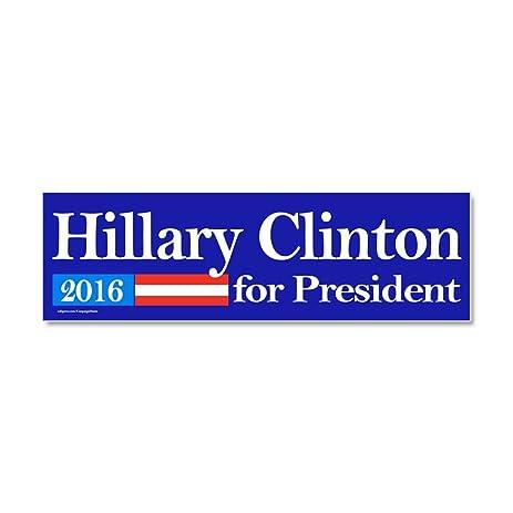 Cafepress hillary clinton for president 2016 car magnet 10 x car magnet 10 x