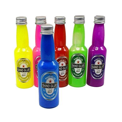 Sacow Tricky Toys Funny Beer Bottle, 3PC Barrel Slime Goo Silly Gag Kids Toys Prank Party Joke Fun Beer (Funny Beer Jokes)