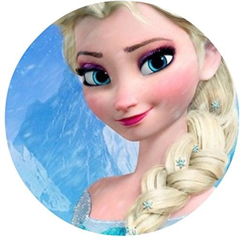 Frozen-Elsa-Ice-Castle-Princess-Edible-Image-Photo-Cake-Topper-Sheet-Birthday-Party-Event-8-Round-74730