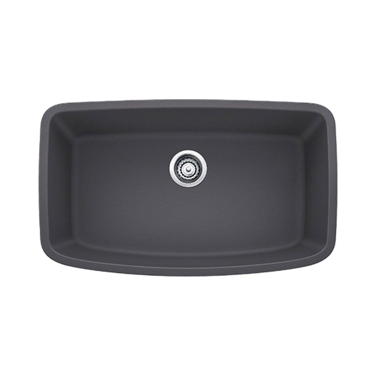 b ie UTF8&node single bowl kitchen sink Blanco Valea Super Undermount Single Bowl Kitchen Sink Large Cinder