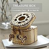 ROKR Puzzle Box 3D Wooden Puzzle Model Kits for