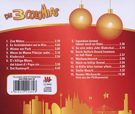 - Weihnachten mit Den 3 Colonias - Amazon.com Music