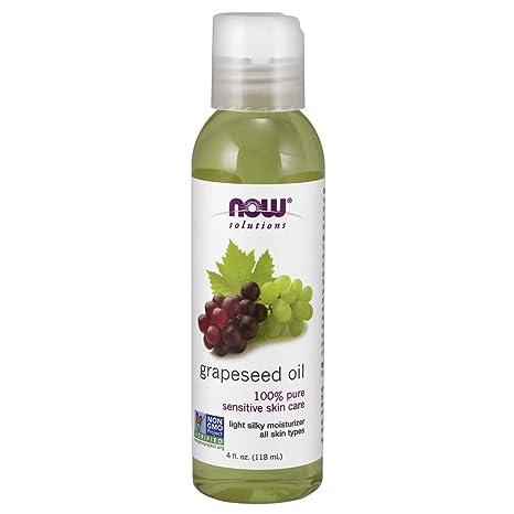 Soluciones, Aceite de semilla de uva, 4 onzas líquidas (118 ml) -