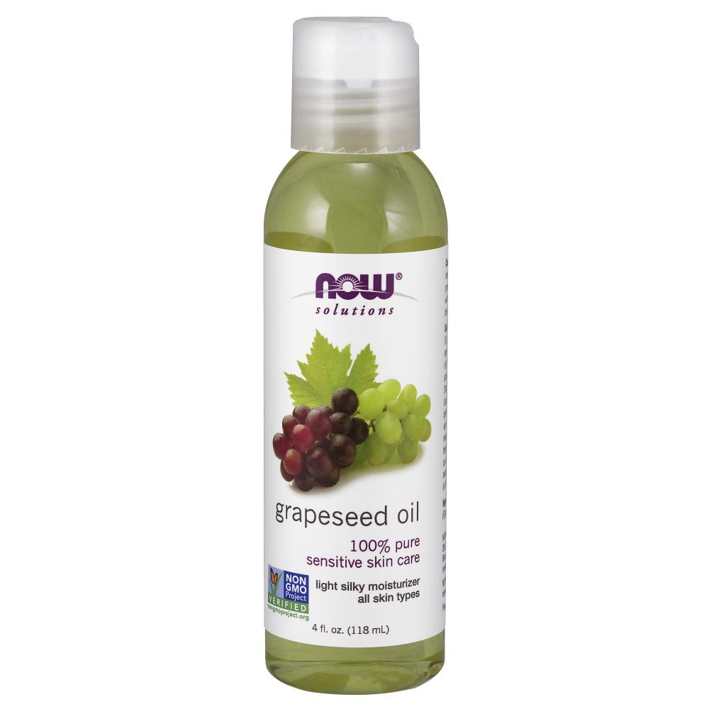 NOW Solutions Grapeseed Oil, 4-Ounce