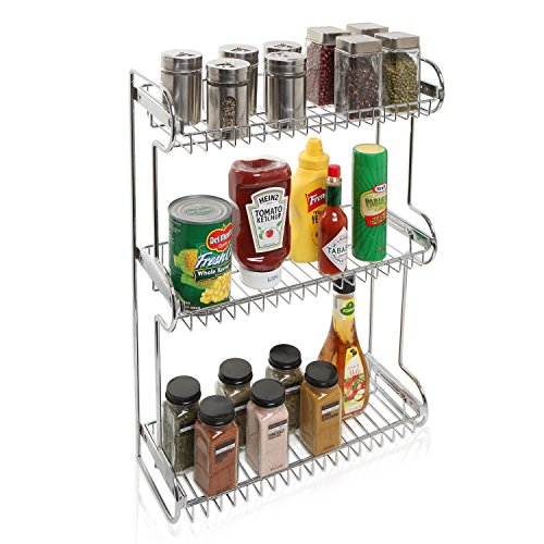 Stainless Countertop Multipurpose Bathroom Organizer