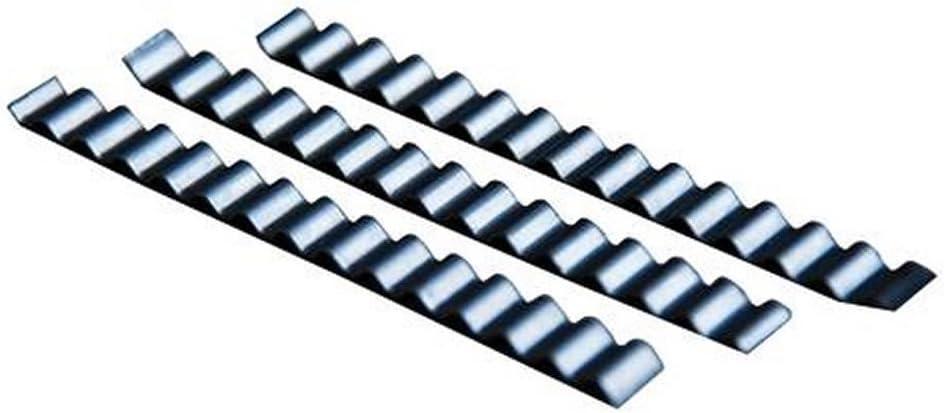 Wellenverbinder Rissverschluss 50 St/ück Estrichklammer 70 x 6 mm