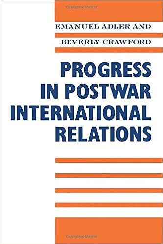 Progress in Post-War International Relations: Emanuel Adler