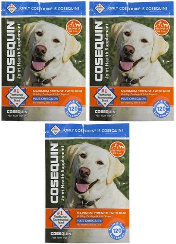 nutramax Cosequin DS Joint Health Plus MSM Soft Chews 360...