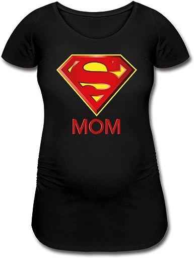 DC Comics Superman Muttertag Mom Frauen Schwangerschafts-T-Shirt