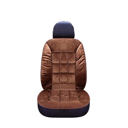 VOVI - Cojín calefactable para asiento de invierno, de felpa ...