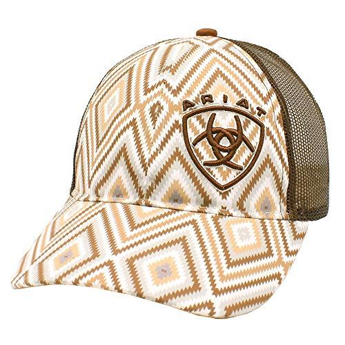 Ariat Ladies Tan Aztec Cap
