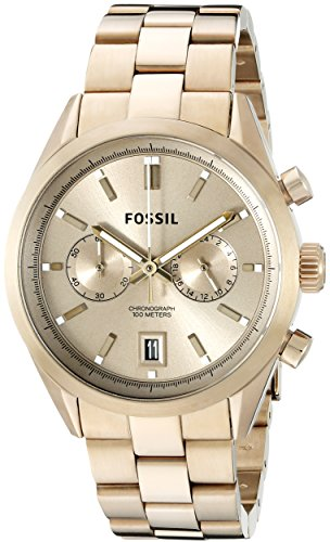 Fossil-Mens-CH2993-Del-Rey-Chronograph-Stainless-Steel-Watch-Gold-Tone