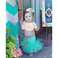 Baby & Toddler Mermaid Birthday Outfit Costume Girl