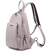 Women Backpack Purse, Shoulders Bag Lightweight School PU Leather with Adjustable Shoulder Strap