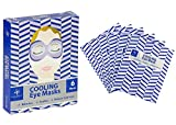 Anti Aging Lace Face Mask Jean Pierre Cooling Refreshes Soothes Eye Masks 6 Treatments