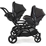 Contours Universal Infant Car Seat Adapter for Contours Single and Double Strollers -Compatible with Baby Trend, Chicco KeyFit, Evenflo and more