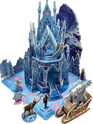 Cut3 Disney Frozen Princess Elsa's Ice Castle 3D Puzzle