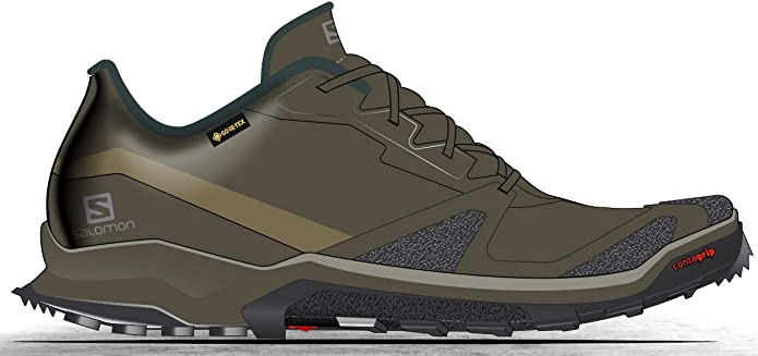 Salomon XA COLLIDER GTX, Zapatillas de Trail Running Hombre, 40 2/3-49 1/3: Amazon.es: Zapatos y complementos