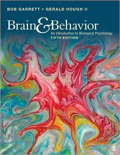 Brain Behavior An Introduction To Behavioral Neuroscience