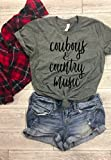 Country fest tees cowboys and country music country music festival concert tee southern belle t-shirt