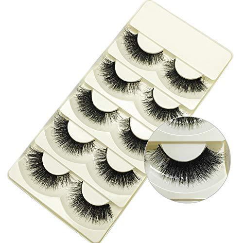 Genuine 3D Mink Eyelashes Dramatic Makeup Thick Long Multilayer Fluffy Hand-made False Eyelashes 5 - Real Eyelashes False Hair