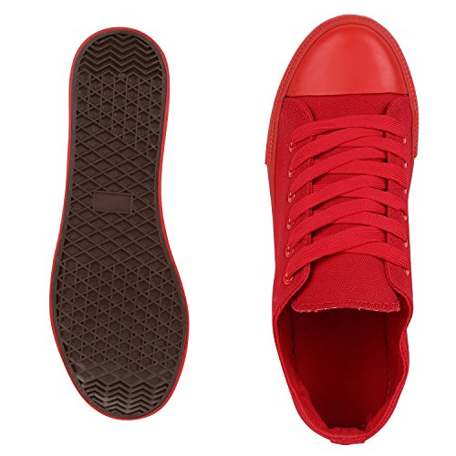 Best-botas para mujer zapatilla zapatillas zapatos de cordones estilo deportivo Rot All Nuovo