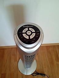 oneconcept tower blizzard s ulenventilator design ventilator turm turmventilator 50. Black Bedroom Furniture Sets. Home Design Ideas