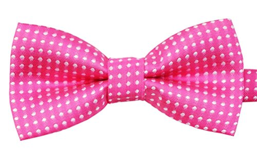 Jack Russell Maltese (Bak Bak Polka Dots Handmade Breakaway Adjustable Bow tie for Small and Medium for Cat/Dogs / Rabbits (Recommended by American pet Safety Association) (G5))