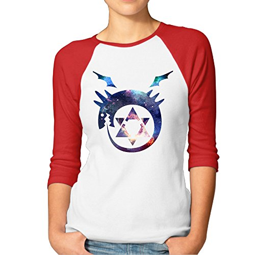 loyra-womens-3-4-sleeve-alchemist-vintage-climb-short-tee-red-s