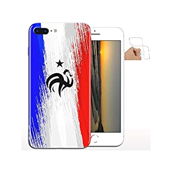 coque iphone 8 silicone foot