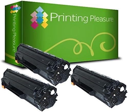 Negro Printing Pleasure Compatible CE285A CRG 725 Cartucho de t/óner para HP Laserjet Pro P1102 P1102W M1212 M1212NF M1217NFW M1132 Canon i-SENSYS LBP6000 LBP6000B LBP6020 MF3010 Alta Capacidad