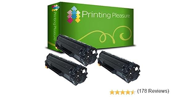 3 Compatibles CE285A / 85A Cartuchos de tóner para HP Laserjet Pro ...