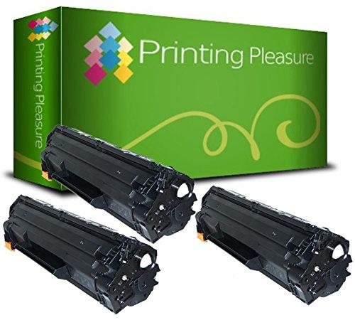 Printing Pleasure 2 Compatibles CE285A 85A Cartuchos de tóner para ...