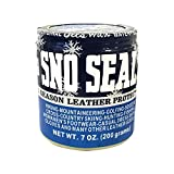 Atsko SNO-Seal Original Beeswax Waterproofing Leather Protector, 7 oz