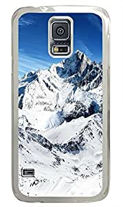Samsung S5 cases leather Snow Winter PC Transparent Custom Samsung Galaxy S5 Case Cover