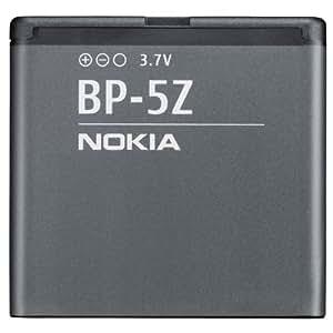 Nokia BP-5Z - Batería/Pila recargable (1080 mAh, GPS/PDA/Mobile phone, 3,7V, BP-5Z) Gris