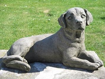 Dragonstone Labrador Dog Garden Statue Amazoncouk Garden