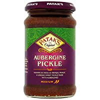 Pataks Brinjal Pickle 312 g (Pack of 6)